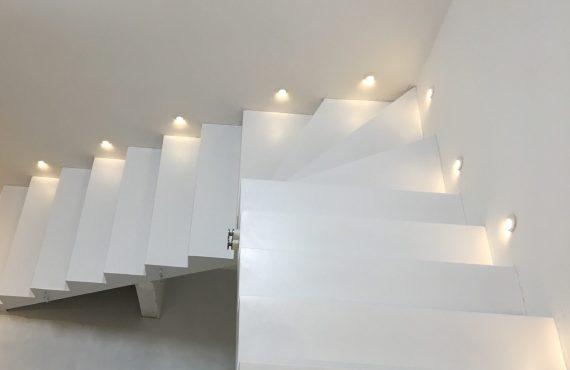 Pryskyřičné stěrky na schody